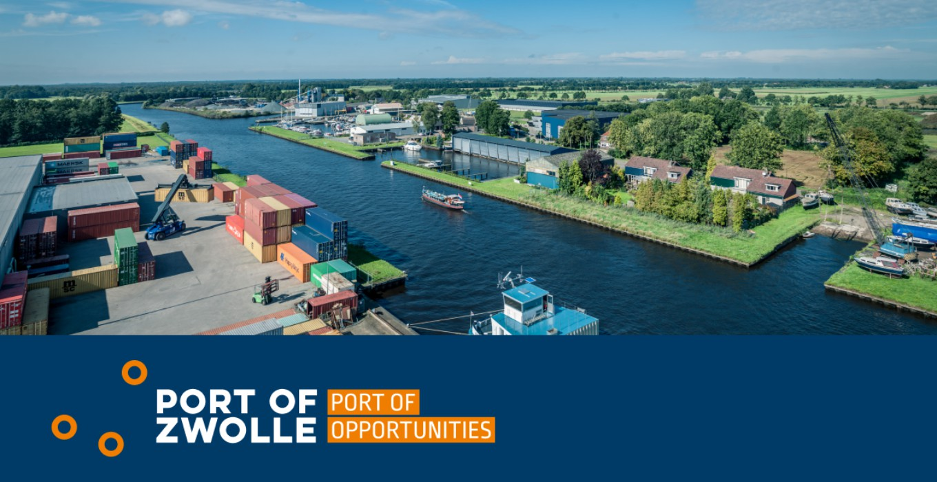 Port of Zwolle | Port of Opportunities: nieuwe website